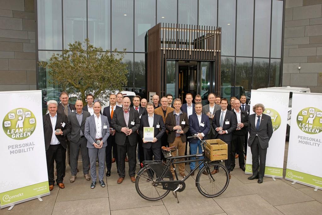 Fluas behaalt Lean & Green Personal Mobility Award