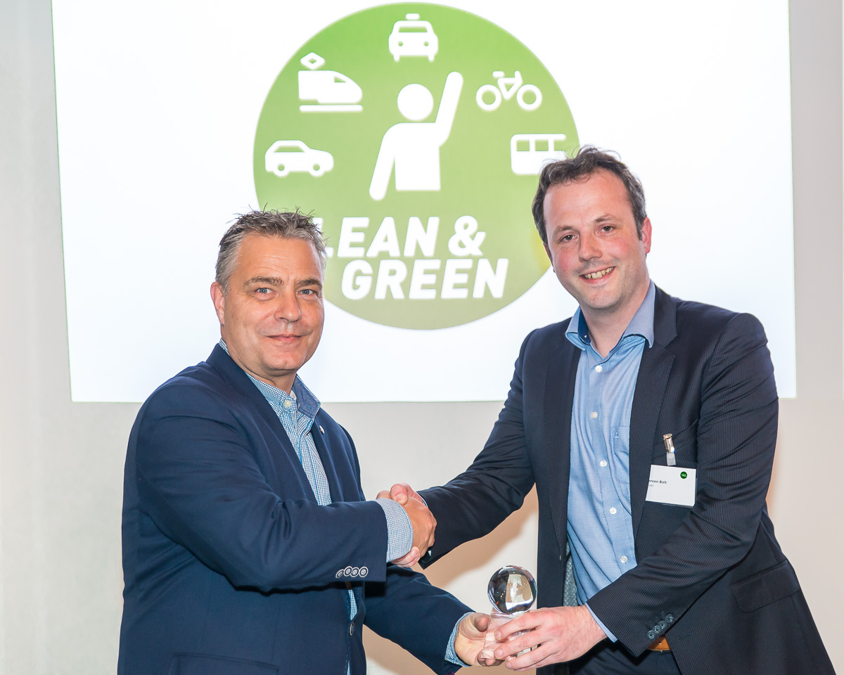 Fluas behaalt Lean and Green Personal Mobility Star