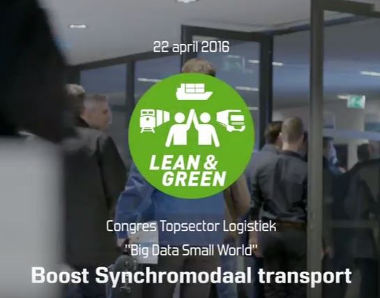 Highlights Topsector Logistiek congres voor Lean and Green Synchromodaal