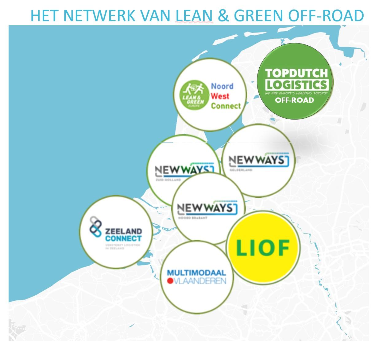 De regionale aanpak van Lean & Green Off-Road